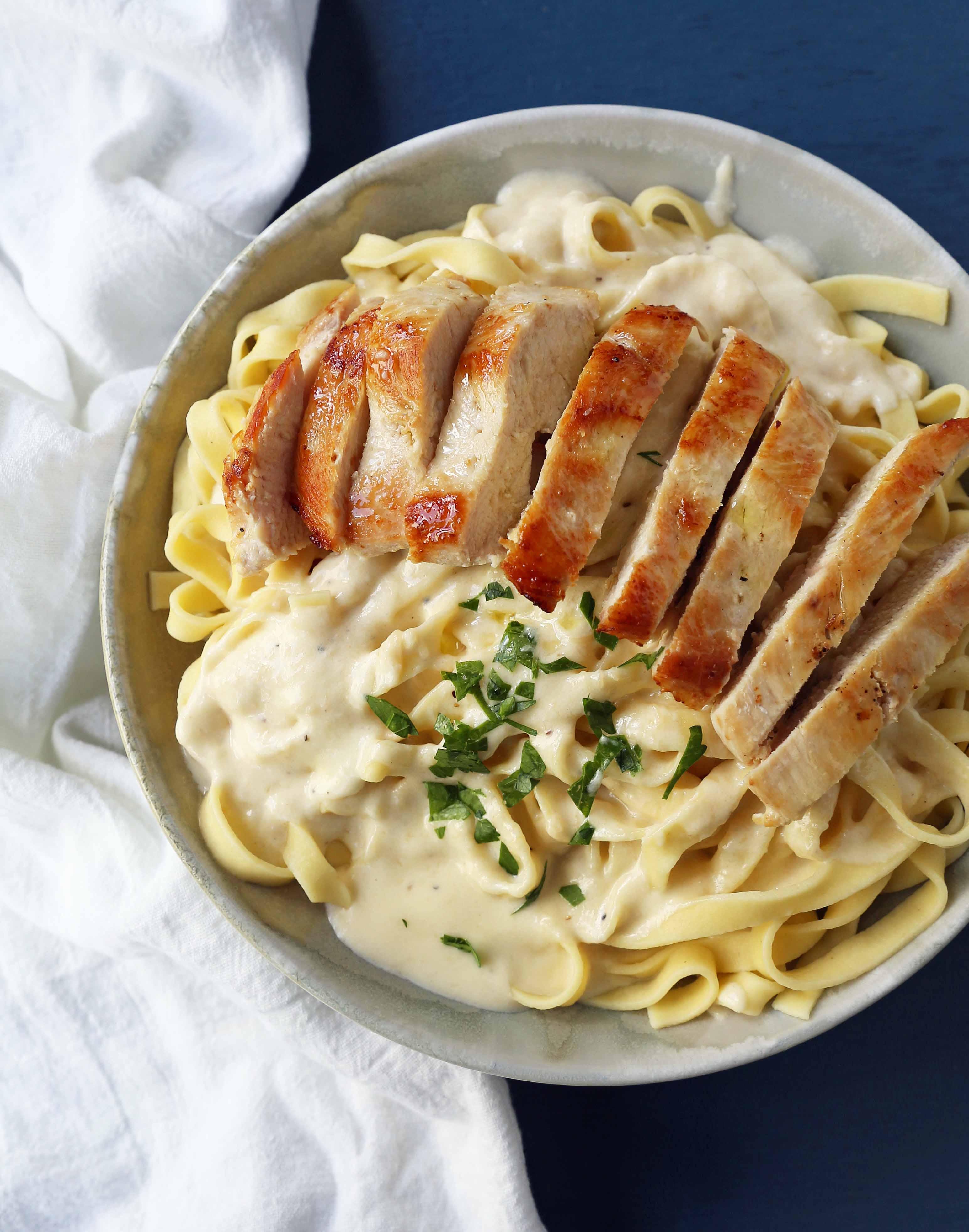 Chicken Fettucine Alfredo 6 - Your Source of Fresh Chicken