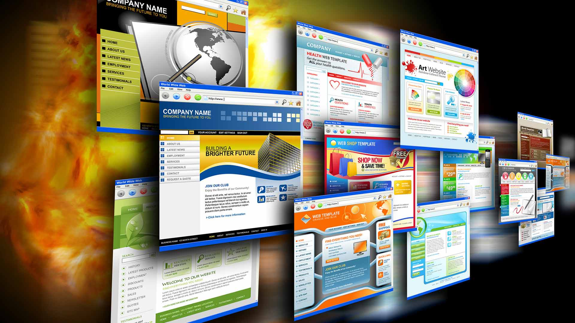 types of websites - Website-A Way to Find Customers