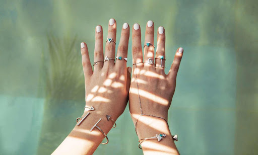 minimalist jewellery - Gifts Ideas For A Bachelorette Party